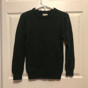 Cherokee forest green sweater